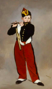 Edouard Manet, The Fife Player' (1866)