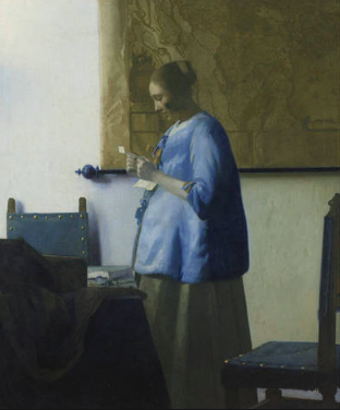 The star attraction: Vermeer's 'Woman reading a letter' (c.1663)