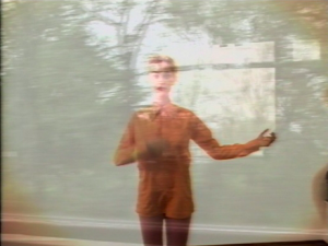 Pipilotti Rist: blurred homage. You Called Me Jacky (1990)