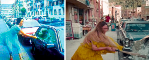 Spot the difference: Pipilotti Rist & Beyoncé