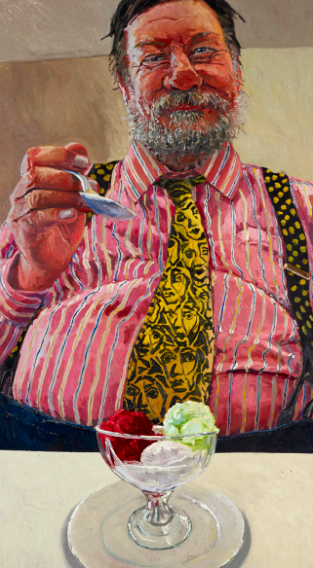 Lucy Culliton's memorable portrait of Ray from 2011
