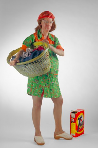 Duane Hanson's 'Woman with a Laundry Basket' (1974)