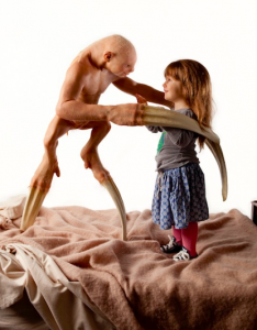 Patricia Piccinini, detail from 'The Welcome Guest' (2011)