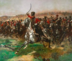 Eduard Détaille, 'Vive l'Empereur!' (1891)