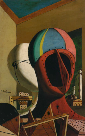 Giorgio de Chirico, 'The Metaphysical Muses' (1918)