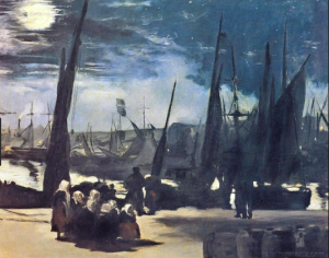Édouard Manet, 'Moonlight over the Port of Boulogne' (1869)
