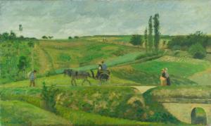 Camille Pissarro, 'The Energy Road' (1874)