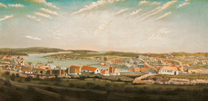 Unknown, after Thomas Watling, 'View of the town of Sydney in the colony of New South Wales', (c. 1799)