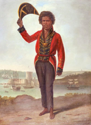 Augustus Earle, 'Portrait of Bungaree, a native of New South Wales', c.1826