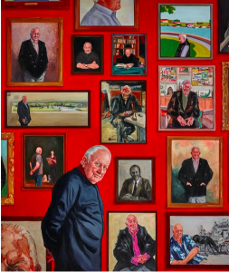 Joanna Braithwaite, 'Hall of fame - portrait of Pat Corrigan'