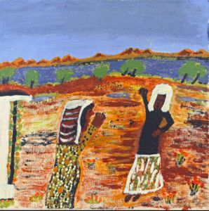 Nyinta Donald brings the Nativity story to the Outback