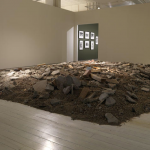 MadeIn Company, Calm, 2009, water bed, carpet, building rubble