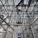 Christian Boltanski's 'Chance' inside the French Pavillon at the Venice Biennale, 2011