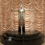 CALLOT SOUERS, Paris couture hours 1925 – 1937. Marie CALLOT GERBER designer France c. 1870 – 1927 Dress c.1925, silk, glass beads, metallic thread