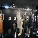 Installation photographs of the exhibition Edward Steichen & Art Deco Fashion at NGV International