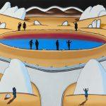 Roger Brown, 'Desert Crater', 1971