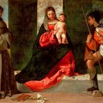 Titian, 'The Virgin and Child between Saint Anthony of Padua and Saint Roch' (c.1508)