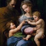 Raphael, 'Holy Family with Saint John' (c. 1517)