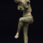 Bronze Figure of Aphrodite (200-100 BC), said to be from near Patras, (without base) 55.5 (h) x 26 (w) x 15.5 (d) cm.