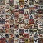 LUCY CULLITON, Horse multiple (1999), oil on board, 144 x 241 cm. Private Collection. LUCY CULLITON, Auto globes (2008), oil on canvas 130 x 130 cm. Private Collection. Image courtesy of Mosman Art Gallery