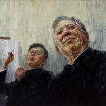 Jun Chen, 'John Yu with artist' (2012)