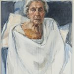 Ann  Cape, 'The last Portrait of my Mother', (2014), oil on canvs, 122x92cm