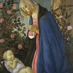 Sandro Botticelli, 'The Virgin adoring the sleeping Christ child' (c.1485)