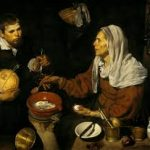 Velázquez, 'An old woman cooking eggs' (1618)