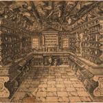 Giralomo Viscardi (artist), Italian 1600s, Giovanni Battista Bertoni (engraver), Italian 1600s, The Calzolari Museum, 1622, engraving. Baillieu Library Print Collection, the University of Melbourne. Gift of Dr J Orde Poynton 1959