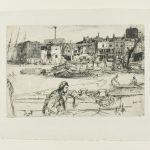 James McNeill Whistler, Black Lion Wharf (1859)